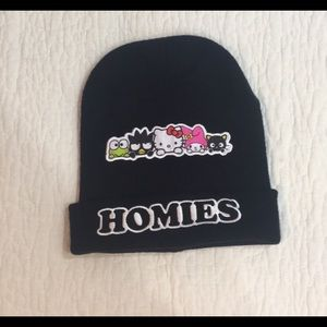 """""""Homie's"""" beanie from Claire's NWOT"""